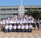EP-KKW students received the English Proficiency Awards and 1-Year Success in Exchange Program
