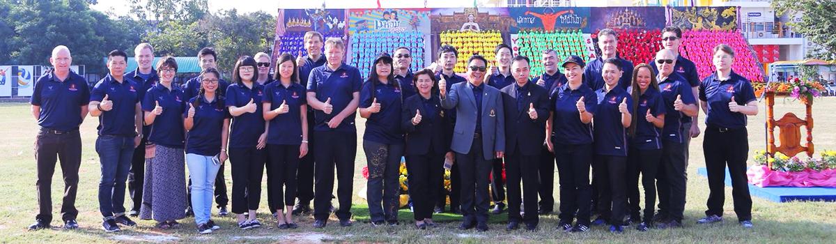 EP Teachers @ 2017 Sports Week Ceremony (KhonkaenWittayayon School)